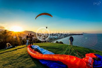 Voo de parapente - Morro do Careca